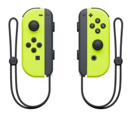 NINTENDO SWITCH SET 2 JOY-CON GIALLO NEON