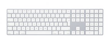 APPLE MAGIC KEYBOARD TASTIERA WIRELESS CON TASTIERINO NUMERICO LAYOUT ITALIANO