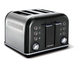 Morphy Richards 242018 tostapane 4 fetta/e 1880 W Nero