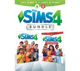 ELECTRONIC ARTS PC THE SIMS 4 PLUS CATS DOGS BUNDLE