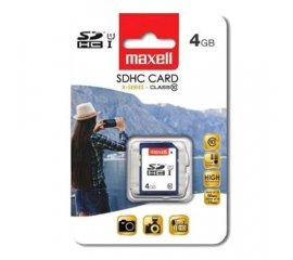 MAXELL SECURE DIGITAL 4GB CLASSE 10