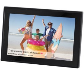 "Trevi DPL 2230 cornice per foto digitali 25,6 cm (10.1"") Touch screen Wi-Fi Nero"