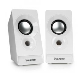 VULTECH SP-320B DIFFUSORI 3W RMS CONNETTORE USB/JACK 3.5MM COLORE BIANCO