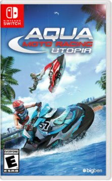 Nintendo Aqua Moto Racing Utopia, Switch videogioco