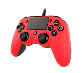 NACON PS4OFCPADRED periferica di gioco Gamepad PlayStation 4 Analogico/Digitale Rosso
