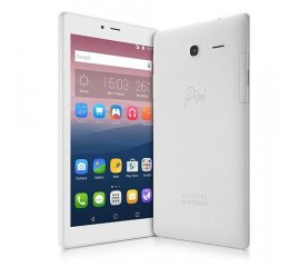 "Alcatel One Touch PIXI 4 17,8 cm (7"") Mediatek 1 GB 8 GB Wi-Fi 4 (802.11n) 3G Bianco Android 5.0"