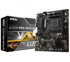 MSI A320M PRO-VD PLUS Presa AM4 micro ATX AMD A320