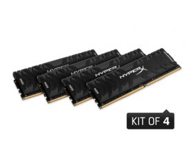 KINGSTON HYPERX PREDATOR 16GB DDR4 MEMORIA DIMM (4 X4GB) DDR4 3000MHz CL15
