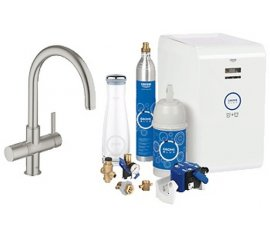 GROHE Blue Chilled & Sparkling Acciaio inossidabile