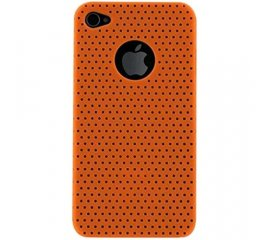 BLUEWAY iPHONE 4/4S COVER TRAFORATA COLORE ARANCIONE