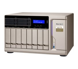 "QNAP TS-1277-1700-16G NAS CHASSIS TOWER 12BAY HDD/SSD 2.5""/3.5"" 6xUSB COLORE GOLD"