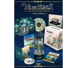 BANDAI NAMCO Entertainment Ni No Kuni 2: Revenant Kingdom King's Edition, PS4 videogioco PlayStation 4 Collezione Inglese, Giapponese