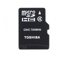Toshiba HIGH SPEED M102 8GB memoria flash MicroSDHC Classe 4