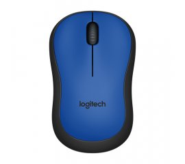 LOGITECH M220 MOUSE WIRELESS OTTICO 1.000 DPI COLORE BLU/NERO
