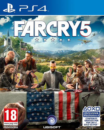 Ubisoft Far Cry 5, PS4 PlayStation 4 Basic Multilingua 2