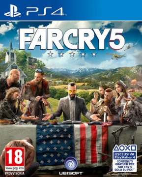 Ubisoft Far Cry 5, PS4 PlayStation 4 Basic Multilingua
