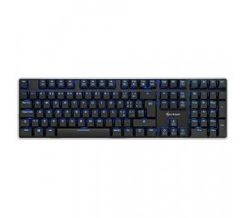 SHARKOON PURE WRITER RED TASTIERA GAMING USB MECCANICA RETROILLUMINATA COLORE NERO