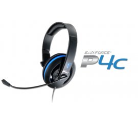 Turtle Beach Ear Force P4C Cuffia Padiglione auricolare Nero