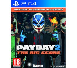 505 Games Payday 2: The Big Score, PS4 PlayStation 4 Base+DLC