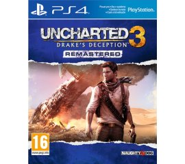 Sony Uncharted 3: Drake's Deception Remastered, PS4 PlayStation 4 Basic