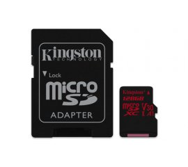 KINGSTON CANVAS REACT 128GB MICROSDXC UHS-I CLASSE 10 + ADATTATORE