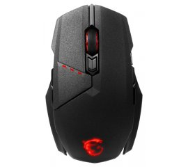 MSI Clutch GM70 mouse Wireless + USB Ottico 18000 DPI Ambidestro