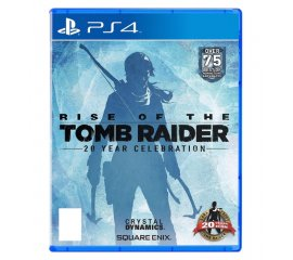 Square Enix Rise of the Tomb Raider: 20 Year Celebration, PS4 PlayStation 4 Base+supplemento+DLC