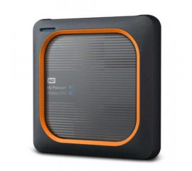 WESTERN DIGITAL MY PASSPORT WIRELESS SSD ESTERNO 2.000GB INTERFACCIA USB 3.0 / WI-FI COLORE BLACK/ORANGE