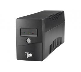 ITEK WALKPOWER 650 UPS 650VA/360W 1xUSB COLORE BLACK