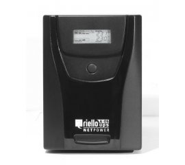 RIELLO NETPOWER 1500 1500Va 900W USB E RS232 COLORE BLACK