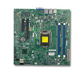 Supermicro X10SLL-SF server/workstation motherboard LGA 1150 (Presa H3) Micro ATX Intel® C222