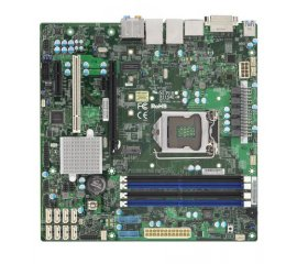 Supermicro X11SAE-M server/workstation motherboard LGA 1151 (Presa H4) Micro ATX Intel® C236