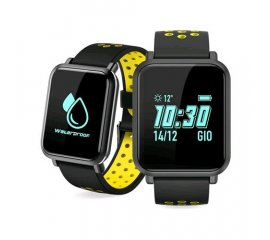 "TECHMADE SMARTWATCH 0.96"" IMPERMEABILE TECHWATCH S1 YELLOW"