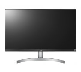 "LG 27UK600-W LED display 68,6 cm (27"") 3840 x 2160 Pixel 4K Ultra HD Nero, Argento, Bianco"