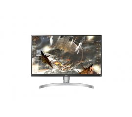 "LG 27UK650-W LED display 68,6 cm (27"") 3840 x 2160 Pixel 4K Ultra HD Nero, Argento, Bianco"