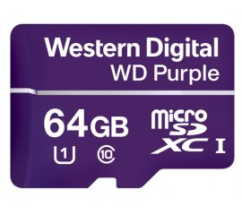 Western Digital Purple memoria flash 64 GB MicroSDXC Classe 10
