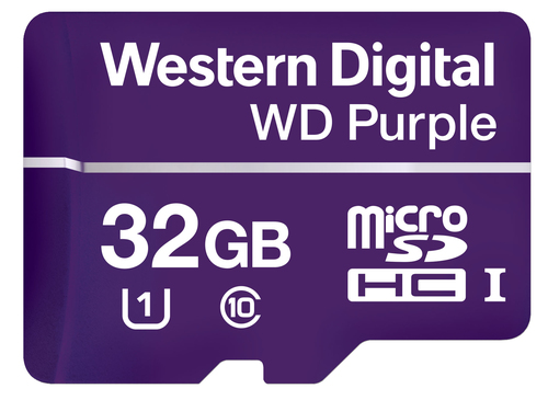 Western Digital Purple memoria flash 32 GB MicroSDHC Classe 10 2
