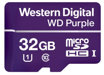 WESTERN DIGITAL WD PURPLE 32GB MICRO SDHC CLASSE 10