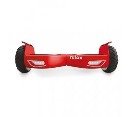 "NILOX DOC 2 HOVERBOARD RUOTE 6.5"" COLORE BLACK AND RED"