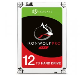 "SEAGATE IRONWOLF PRO ST12000NE0007 HDD INTERNO 12.000GB INTERFACCIA SATA III FORMATO 3.5"" 7.200rpm"