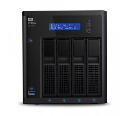 Western Digital My Cloud EX4100 Collegamento ethernet LAN Scrivania Nero NAS