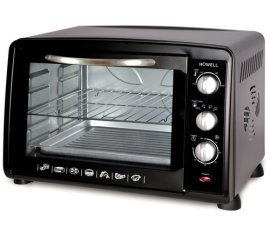 Howell HO.HFLV3826N fornetto con tostapane 38 L Nero 1600 W