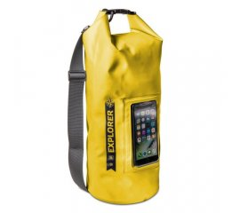 "CELLY EXPLORER 10 CUSTODIA IMPERMEABILE IPX6 PER SMARTPHONE FINO A 6.2"" YELLOW"