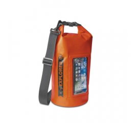 "CELLY EXPLORER 5 CUSTODIA IMPERMEABILE IPX6 PER SMARTPHONE FINO A 6.2"" ORANGE"