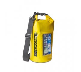 "CELLY EXPLORER 5 CUSTODIA IMPERMEABILE IPX6 PER SMARTPHONE FINO A 6.2"" YELLOW"