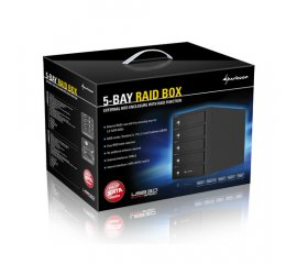 "SHARKOON RAID BOX 5 BAY PER HDD 3.5""  SATA/II/III"