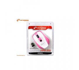 TECHMADE TM-MUSWN3-WP MOUSE OTTICO OTTICO WIRELESS WHITE/PINK