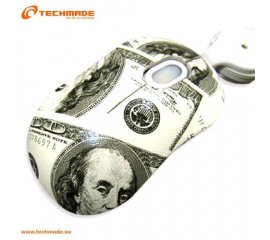 TECHMADE TM-XJ21-DOLLARS MINI MOUSE OTTICO USB CON