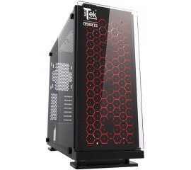 ITEK COSMIC 23 CASE GAMING MIDI-TOWER ATX MICRO-ATX 2xUSB 2.0 1xUSB 3.0
