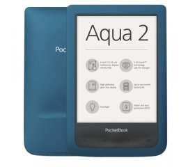 "POCKETBOOK AQUA 2 EBOOK READER 6""TOUCH SCREEN MEMORIA INTERNA 8GB WI-FI COLORE TURCHESE"